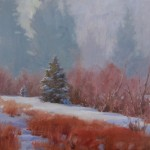 J. Chris Morel | February Mist, oil, 16 x 20.
