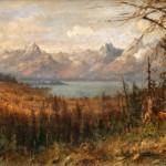John Fery, In the Open, oil, 18 x 36. Estimated: $8,000-$12,000.