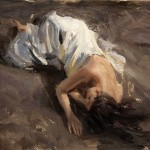 Derek Penix, Figure, oil painting