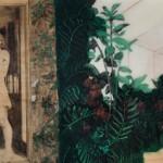 Amanda Raynes, Florence, oil/charcoal/resin, 16 x 24.
