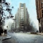 David Cheifetz, Fortress, oil painting