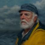 Ann Kraft Walker, Four Months at Sea, oil, 16 x 18.