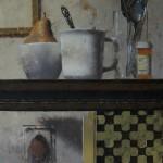 Matthew Saba, Geneva, oil, 12 x 15.