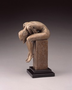 Daniel Glanz, Contemplation, bronze