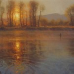 Brent Cotton, Glory, oil painting