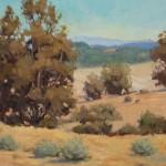 Meisha Grichuhin, Golden Hills, oil, 11 x 14.