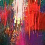 Mark Gould, Passage--Arcadian #902, acrylic, 20 x 16.