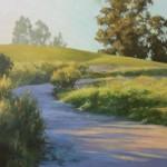 Meisha Grichuhin, The Road Goes On, oil, 24 x 36.