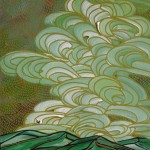 Jami Tobey, Halflight, acrylic, 20 x 16.