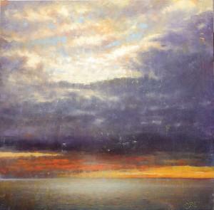 Elizabeth Pollie, Heaven Can Wait, oil, 24 x 24.