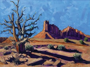 Landscape painting by Herb White