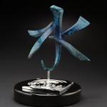 Casey Horn, Water, bronze, 16 x 12 x12.