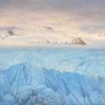 Ice Field, oil, 18 x 24.