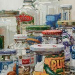 Dianne Massey-Dunbar, Jar Collection, oil, 24 x 18.