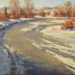 Greg Scheibel, Jefferson River, oil 24 x 30.