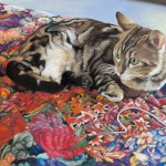 Joanne Burney, LoLo Lounging, pastel, 19 x 26 (2013 third place).