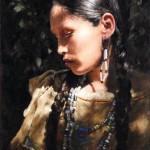 John Coleman, Last Light, oil, 22 x 15.