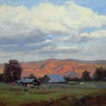 John Poon, Valley Farm | Oil Plein-Air Painter