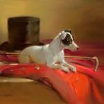 Joseph H. Sulkowski, Born to the Chase, 16 x 20.