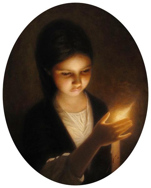 Vincent Xeus, Julia, oil, 18 x 14.