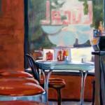 Kelly Berger, Local Flavor, acrylic, 24 x 30.