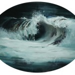 Kim Cogan, Wave No. 22, oil, 18 x 24.