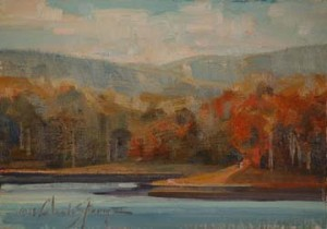 Lake Jocassee Cove by Trey Finney