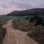 T. Allen Lawson, ETAWell After Dark, oil painting