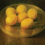 Will Klemm, Lemons, oil, 32 x 36.