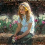 Bryce Cameron Liston, Life in Bloom, oil, 18 x 24.