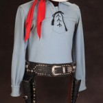 Nudies Rodeo Tailor Outfit and Edward Bohlin double-holster gun rig from the personal collection of TV's original Lone Ranger.