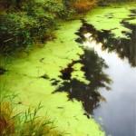 Renato Muccillo | Lush Embankment, oil, 24 x 18.