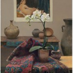 Orchid with Odalisque by Jim McVicker