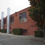 Jesse Powell's art studio in Monterey, CA