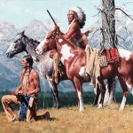David Mann, Shoshoni Ridge, oil, 30 x 40.
