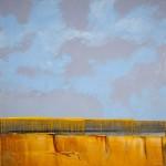 Mark White, Mesa's Edge, oil, 36 x 36.