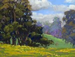 Michael Clements, Maui Ranch Land, pastel, 12 x 16.