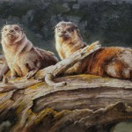 Mark McKenna, Otters' Roost, oil, 18 x 26.