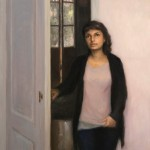 Melissa Franklin Sanchez, Opening Closing, oil.