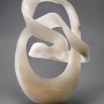 Merlin Cohen, Spirit Cubed, alabaster, 27 x 18 x 12.