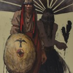 Mike Larsen, Apache Spirit, oil, 40 x 30.