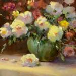 Mary Ann Miro, Flower Language, oil, 16 x 20.