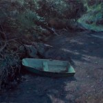 Marc Hanson, Moonstruck Dinghy, oil, 20 x 24.