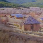 J. Chris Morel | Mora Valley, oil, 18 x 20.