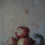 Matthew Saba, Newton, oil, 10 x 13.