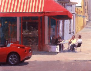 Randall Sexton, North Beach Siesta, oil, 24 x 30.