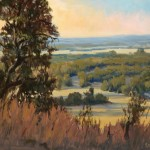 Kay Northup, Hill Country Good Morning, oil, 16 x 20.