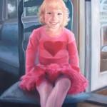 Terra Novak, Happy Morning, oil, 36 x 24.