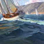 Jim Wodark, On an Odyssey, oil, 24 x 30.