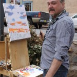 Artists at Passport to the Arts in Santa Fe.Artists at Passport to the Arts in Santa Fe.